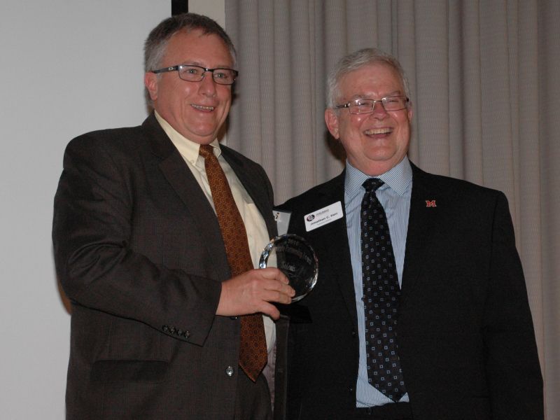 Miami University Paper Science and Engineering Foundation holds annual banquet