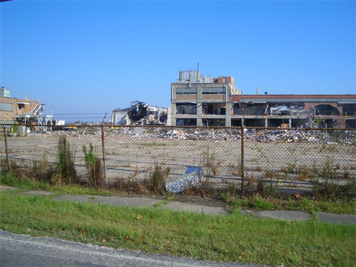 Mill destruction